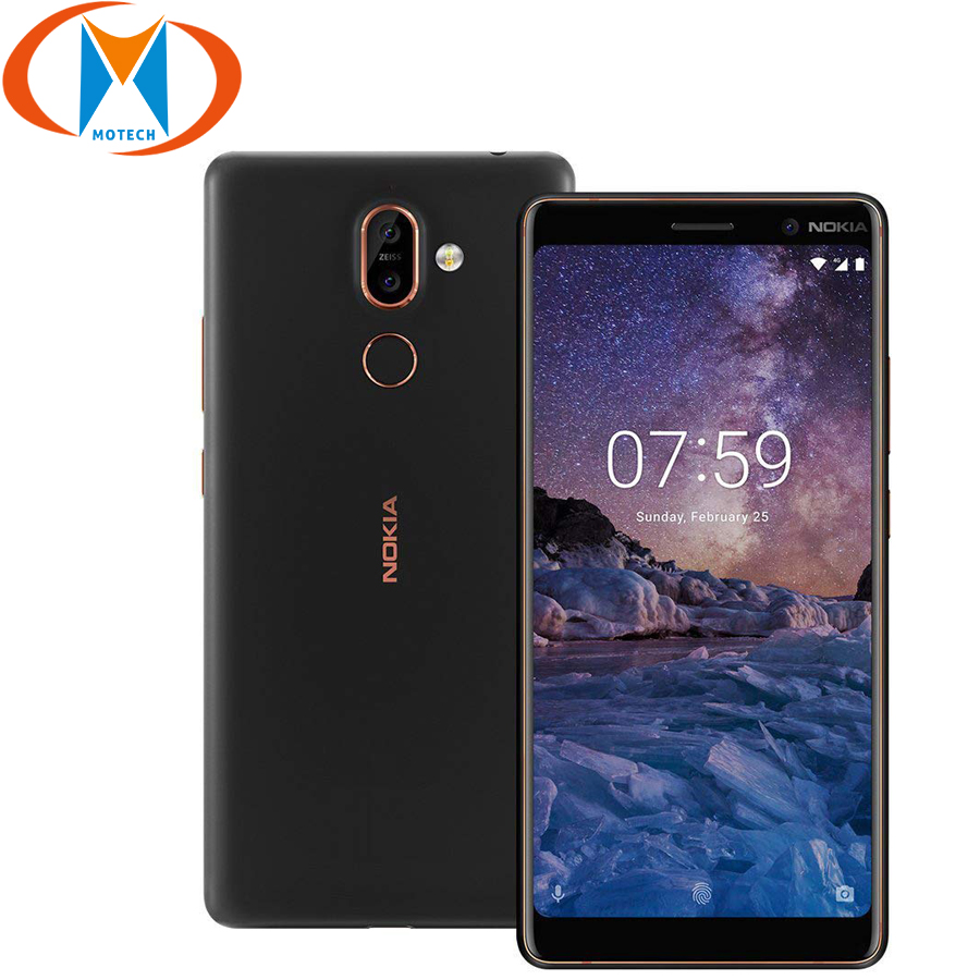 Global Version Original Nokia 7 Plus 4GB 64GB Mobile Phone 4G LTE 6 Snapdragon 660 Octa