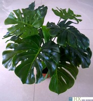 Free Shipping 13 Leaves Pcs Turtle Leaves Plants Artificial Tree Artificial Plants Home Decoration Indoor Plants