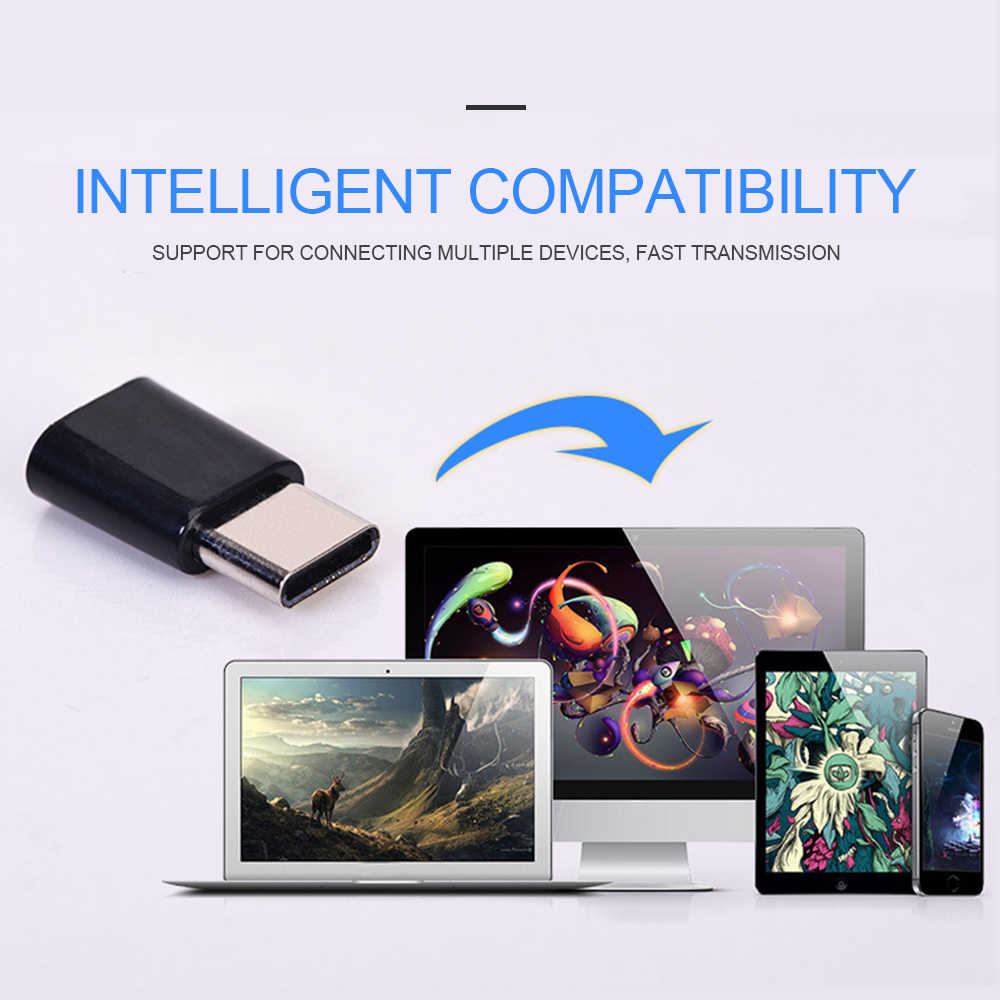Điện Thoại di động Dòng Dữ Liệu Sạc Pin OTG Android Loại-C Sang Micro USB Giao Diện Loại C Di Động phụ Kiện điện thoại