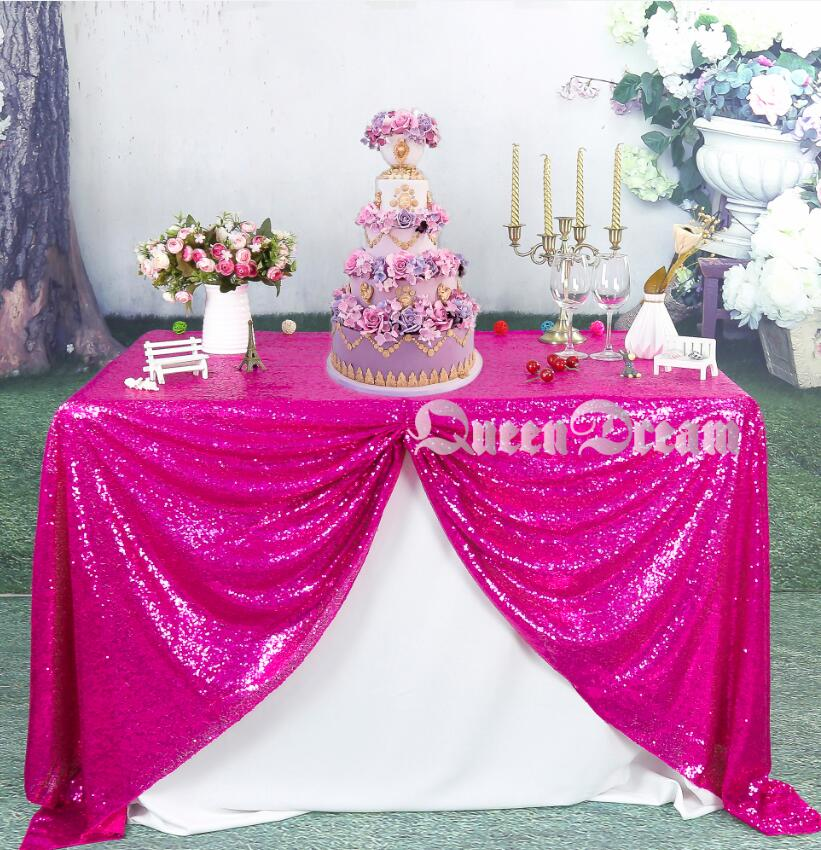 Charmant 50inch By 80inch Fuchsia Sequin Table Cloth Sequin TableCloth Sequin Linens  Sparkly Sequin Overlays In Tablecloths From Home U0026 Garden On Aliexpress.com  ...