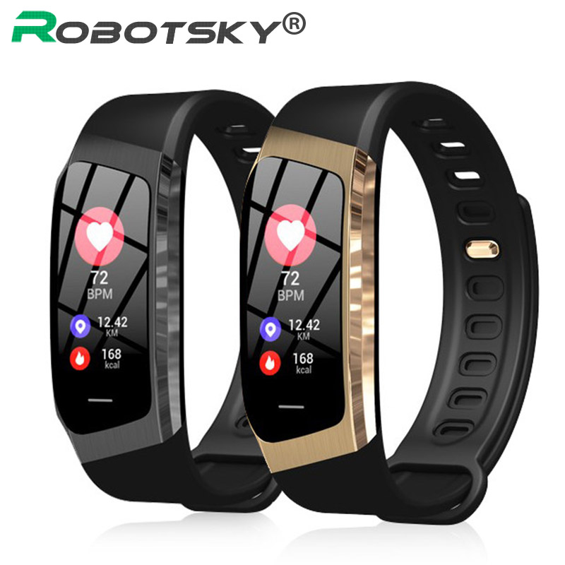 E18 Smart Band Color Touch Screen ip67 Waterproof Blood Pressure Oxygen Heart Rate Monitor Sport Bracelet Talk Band Mi 2 3 цена