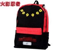 Anime Manga Messenger Shoulder School Bag Naruto Akatsuki Cloud Symbol Backpack