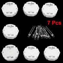 X27 168(7 шт.)+ 10 лампочек шагового двигателя для спидометра, Ремонтный комплект кластера x27,168 X27-168