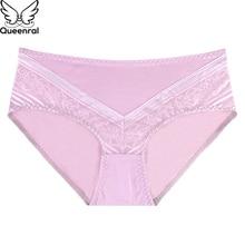 Queenral 3pcs Pack! Pus Size Panties L XL XXL XXXL Seamless Brief Women  Underwear 051c20d3b