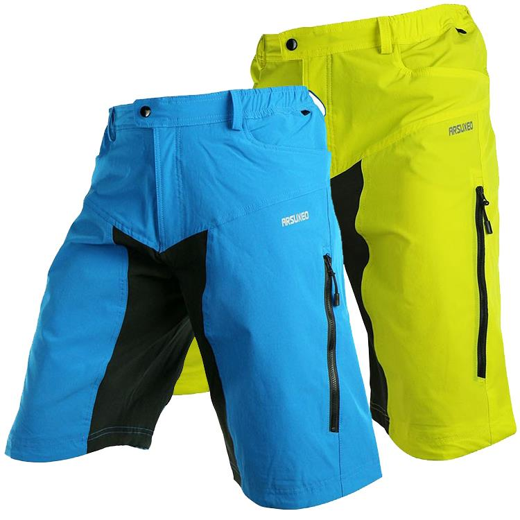 Mens Outdoor Sports Cycling shorts Downhill MTB Mountain Bike Bicycle Shorts  Wear Jersey With Pad-in Cycling Shorts from Sports   Entertainment on ... 87f6dafca