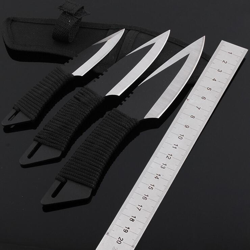 Jeslon 3 in 1 font b Knife b font font b Tactical b font Fixed Blade