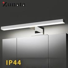 Warll מנורה עמיד למים LED מראה אור 4000K טבעי לבן ארון מראה בחדר אמבטיה אור