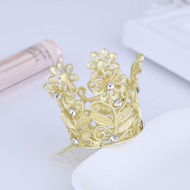 Matte Gold Color Kids Crown...