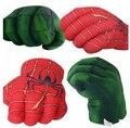 Невероятный Халк и Человек-Паук Smash Руки Плюшевые Пробивая Боксерский Кулак Перчатки Superhero