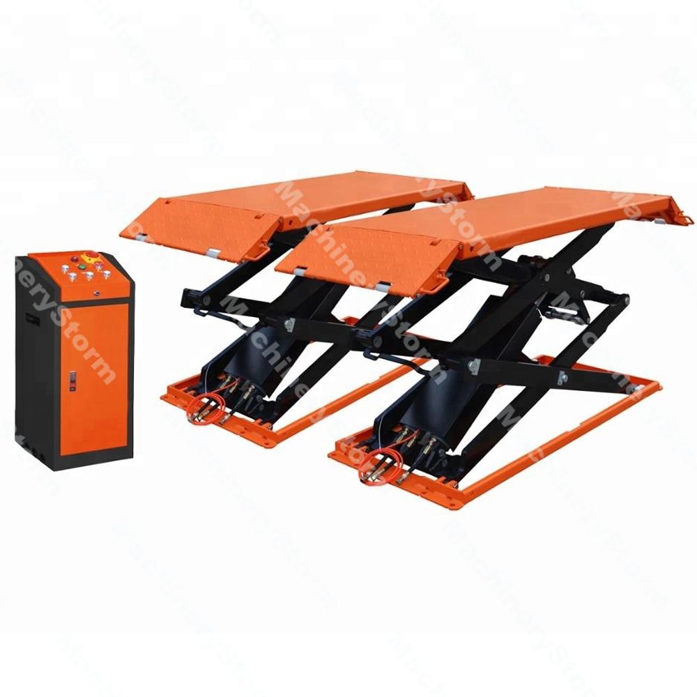 3Ton Full rise scissor car lift with CE Portable hydraulic