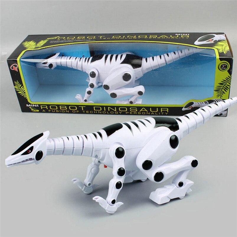 Intelligent Interactive Smart Toy Dinosaur Robot Remote Toys Gift + Sound Light best gift