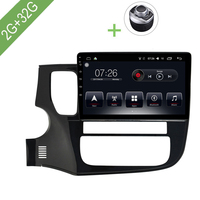 Car Multimedia player 1 Din Android 7.1 Car DVD For Mitsubishi Outlander 2015 2017 10.1 2G/32G touch screen Car Radio GPS