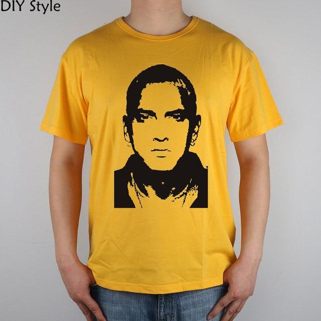 Eminem Marshall Mathers Music Celebrity Wall Art t shirt Top Lycra ...