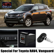 TPMS Special For TOYOTA RAV4 / Vanguard / Tire Pressure Monitoring System Of Internal Sensors / Non destructive installation