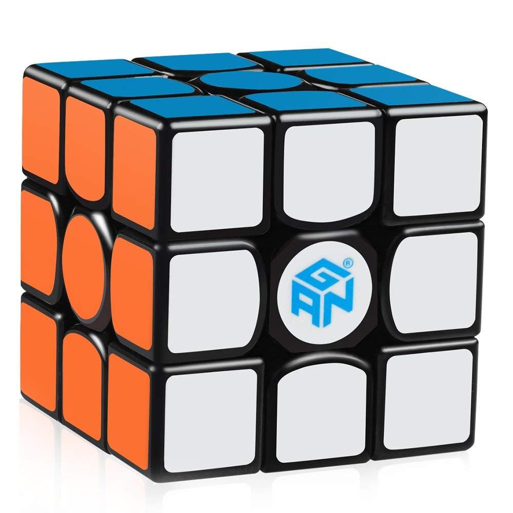 D-fantix Gan 356 Air SM Magnétique Cube Gan356 3x3x3 Gans Cube Vitesse 3x3 Puzzle Jouets pour La Compétition Professionnelle - 2