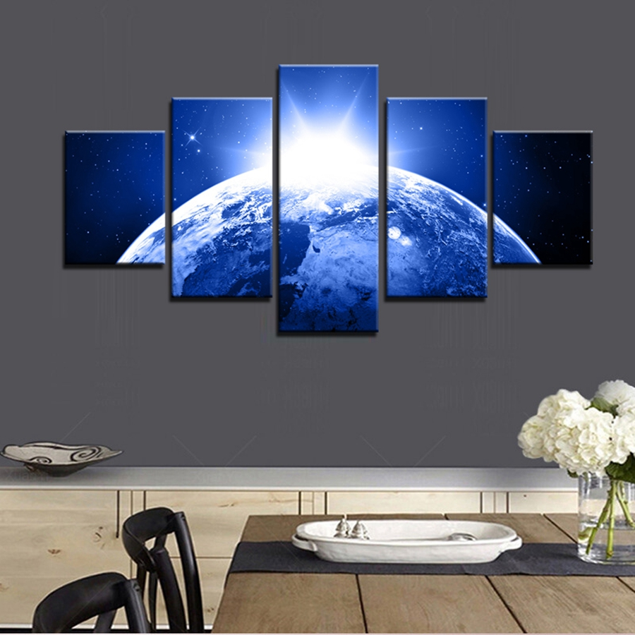 popular blue bedroom wall art-buy cheap blue bedroom wall art lots