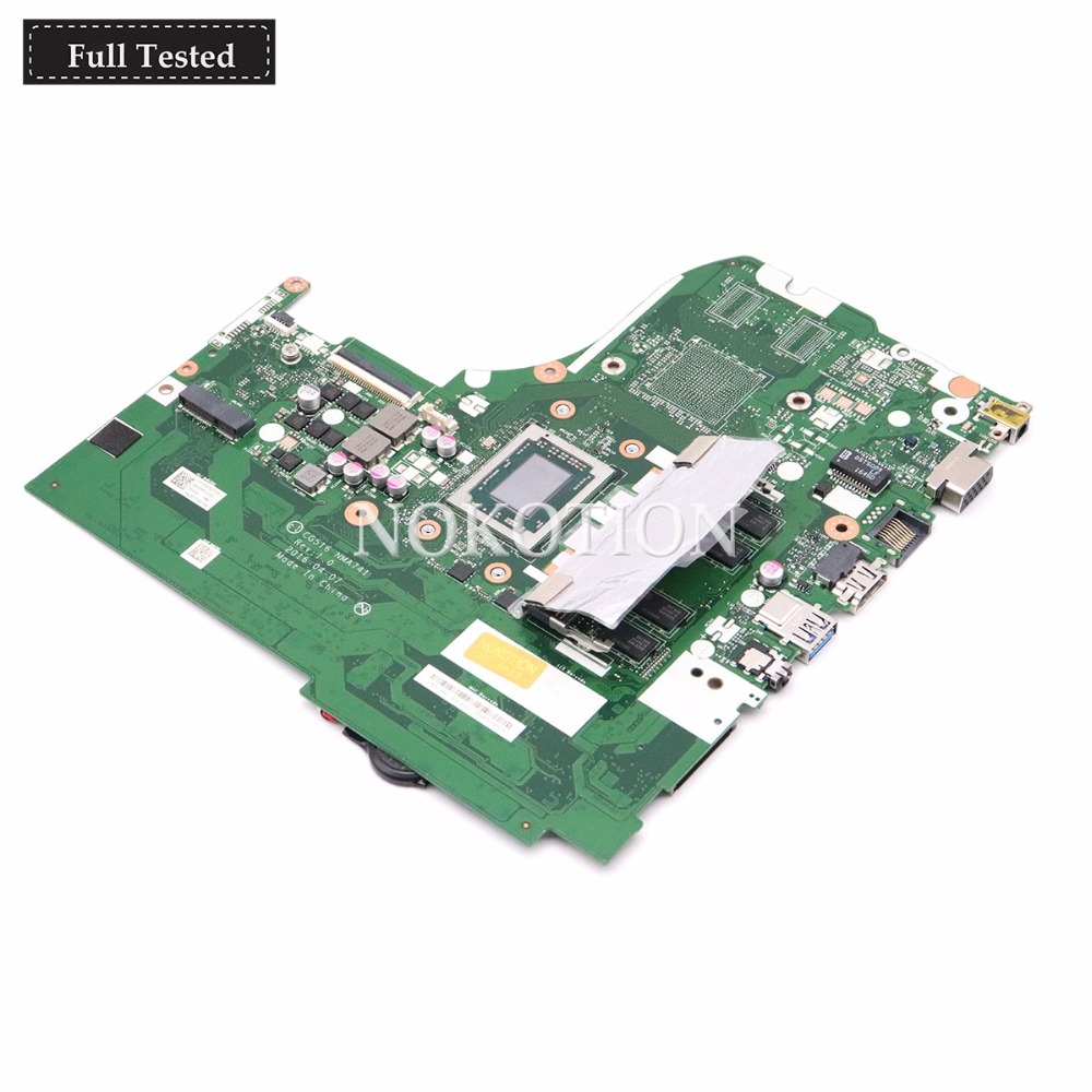 NOKOTION For <font><b>Lenovo</b></font> <font><b>Ideapad</b></font> <font><b>310</b></font>-15ABR Laptop <font><b>Motherboard</b></font> 5B20L71644 CG516 NMA741 With A12-9700P 2.5Ghz CPU 100% Tested Fast Ship image