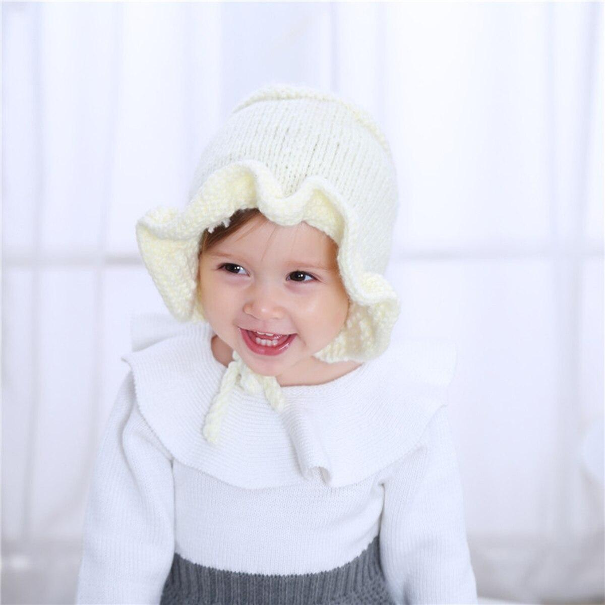 ... Fashion Winter Warm Women Knitted Beanie Cute Popular Hat Newborn Infant  Kid Baby Boy Baby Girl ... d8d2d0e5e