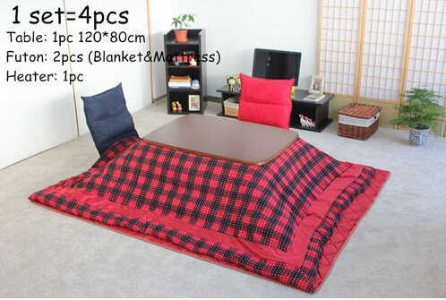 Kotatsu Set 120 Walnut