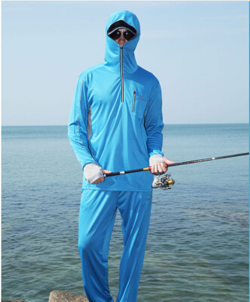 Famous New men/women Brand fishing clothing sun protection clothing long  QF77