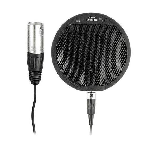 BM 630 Desk table Mic Conference & Speech XLR Phantom Power Microphone 6m Cable