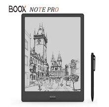 ใหม่รุ่นBOOXหมายเหตุPRO EBook Reader 4G/64G Dual Touch E Ink Book Readerด้านหน้าlightจอแบนหน้าจอE Book E Readerพร้อมปากกา