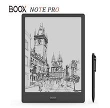 BOOX lector de libros electrónicos NOTE PRO, nuevo modelo, 4G/64G, doble pantalla táctil, panel de luz frontal plano, e Book con bolígrafo
