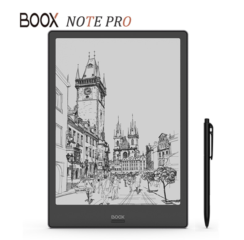 New Model BOOX NOTE PRO eBook Reader 4G/64G Dual Touch e ink Book Reader Front Light Flat pannel screen e Book e Reader With Pen-in eBook Reader from Consumer Electronics    1