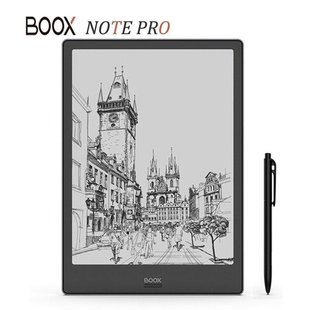 Nuevo modelo BOOX NOTE PRO lector de libros electrónicos 4G/64G doble táctil lector de libros electrónicos frontal pantalla plana de panel de luz e-Book e-lector con bolígrafo