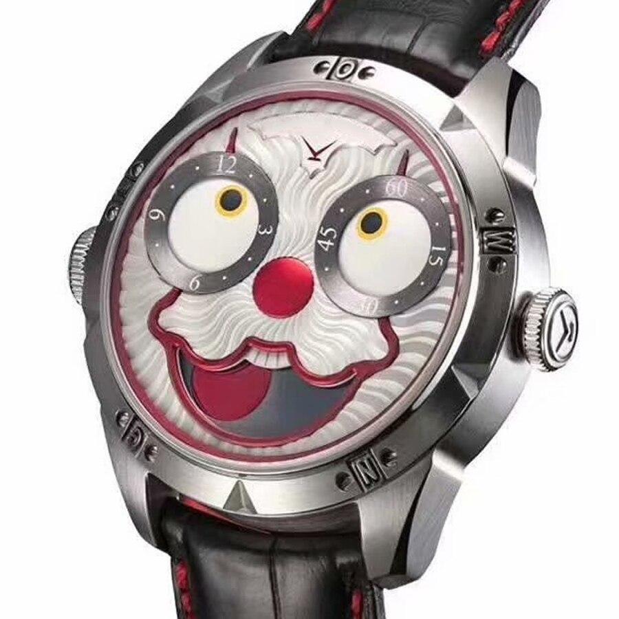 AAAAA automatico degli uomini della vigilanza meccanica diesel orologio svizzero di orologi da uomo costoso joker diver orologio in pelle Top di lusso reloj maschio