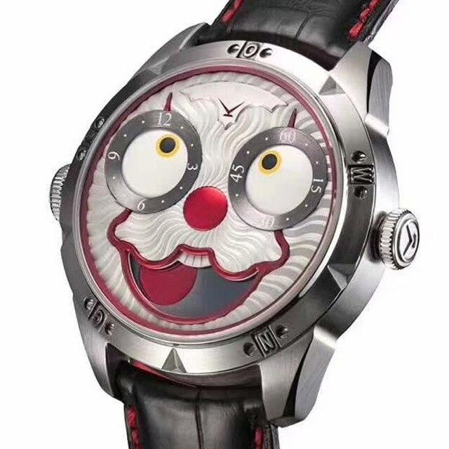 Reloj Automático AAAAA para hombre reloj mecánico diésel reloj suizo para hombre, reloj de buzo de joker caro, reloj de cuero de lujo para hombre