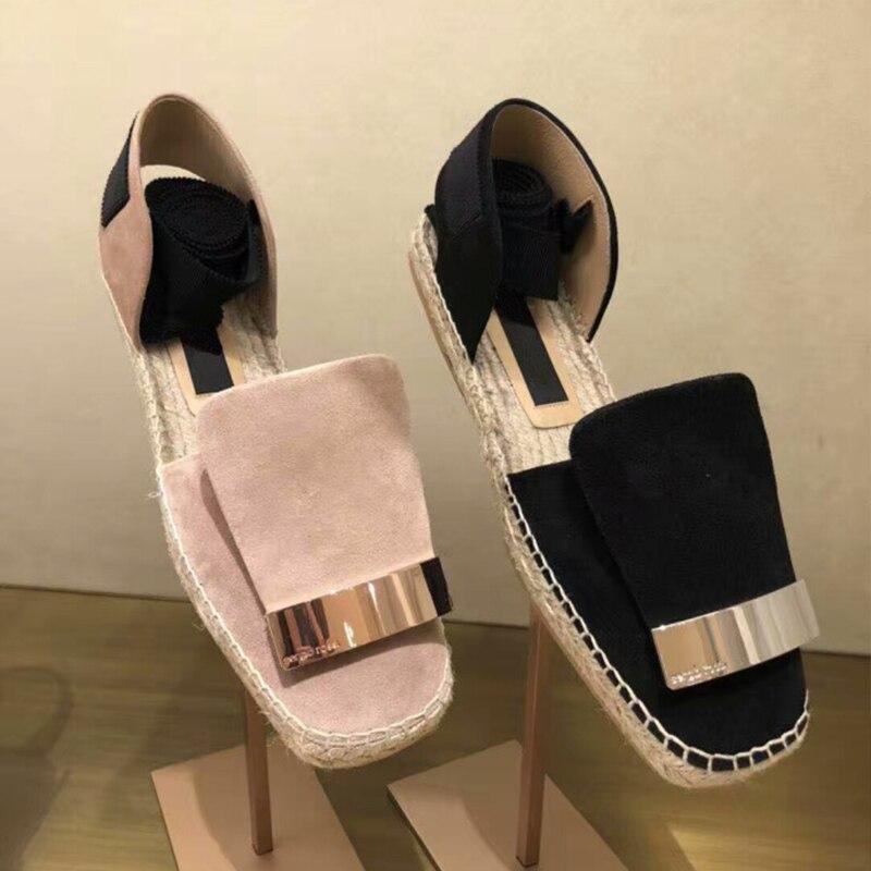 New women shoes summer 2018 chaussures femmes de luxe de marque ladies shoes espadrilles women цена 2017