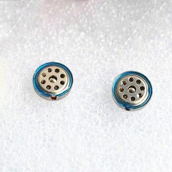 2pcs/ lot 10mm IE8 Titanium Film Headphone Driver Unit 48 ohm Copper Shell Driver Unit for IE6 IE7 IE8 IE80 Replacement Unit