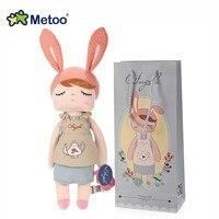 Metoo Kids Adults Stuffed Plush Doll Toy Angela Girls Dolls Animal Design Cute Dolls Birthday Christmas
