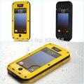 Для iPhone 4 4S 5 5S Металл Gorilla Glass Экстрим Водонепроницаемый Призма Противоударный Алюминиевый Корпус Крышка Розничной Упаковке