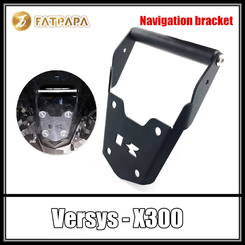 Free Shpping Motorcycle Accessories Modified Navigation Bracket Fit for KAWASAKI VERSYS X300 X 300