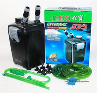 External Bio chemical filter for aquarium filter barrel tank external barrel mute fish tank filter JEBO 835 AP 835