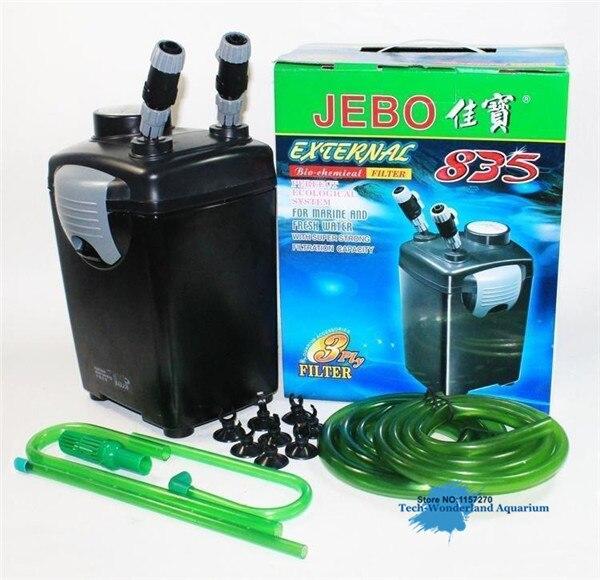 Filtre biochimique externe pour aquarium filtre baril réservoir externe baril muet poisson réservoir filtre JEBO 835 AP 835