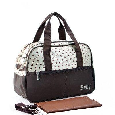 Discount! Diaper Bag backpack polka dot diaper bag back waterproof nappy changing set washable Maternity bag