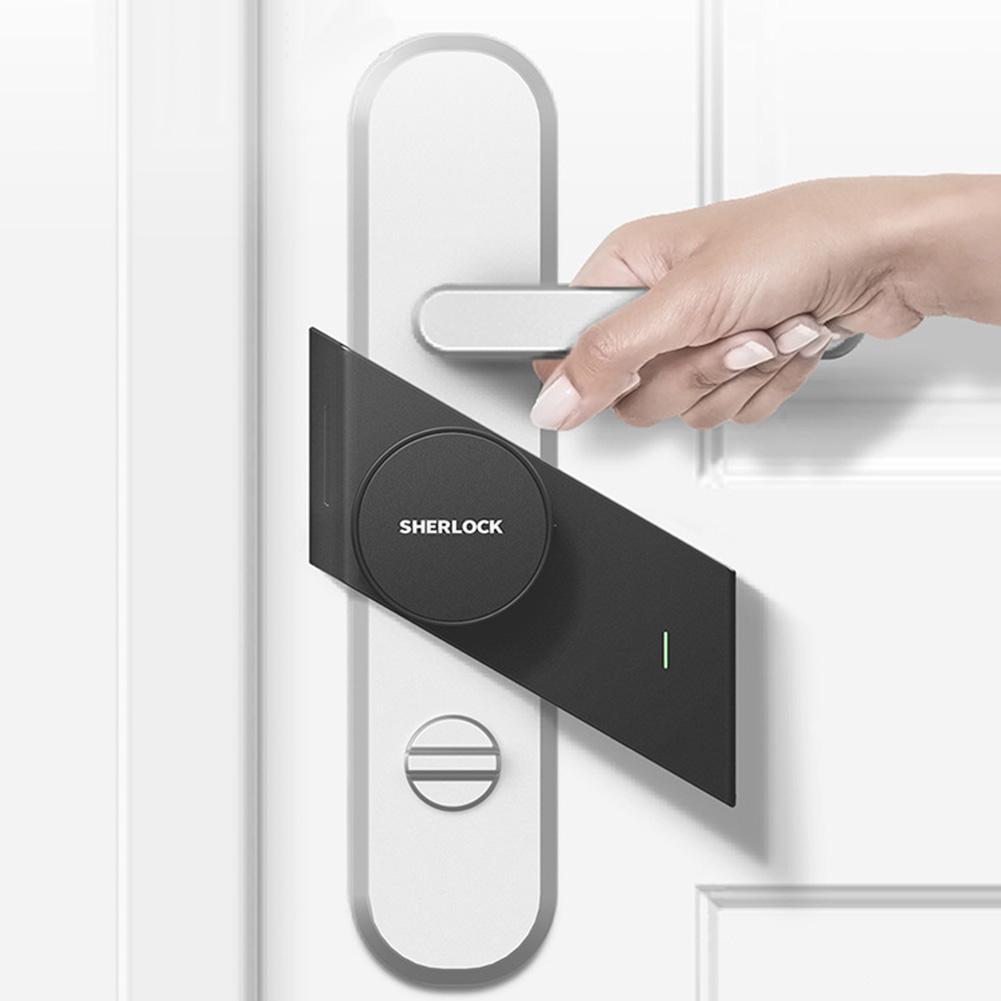 Anti-Theft Keyless Electronic for Sherlock S2 Home APP Control Smart Door Lock Anti-Theft Keyless Electronic for Sherlock S2 Home APP Control Smart Door Lock