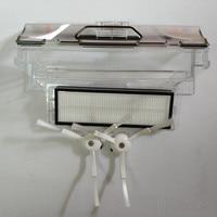 Original Mi Robot Parts 1pcs Robot Vacuum Cleaner Dust Bin Box 1pcs HEPA Filter 2pcs