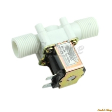Hot DC 12V 1/2″ Electric Solenoid Valve Magnetic N/C Water Air Inlet Flow Switch -B119