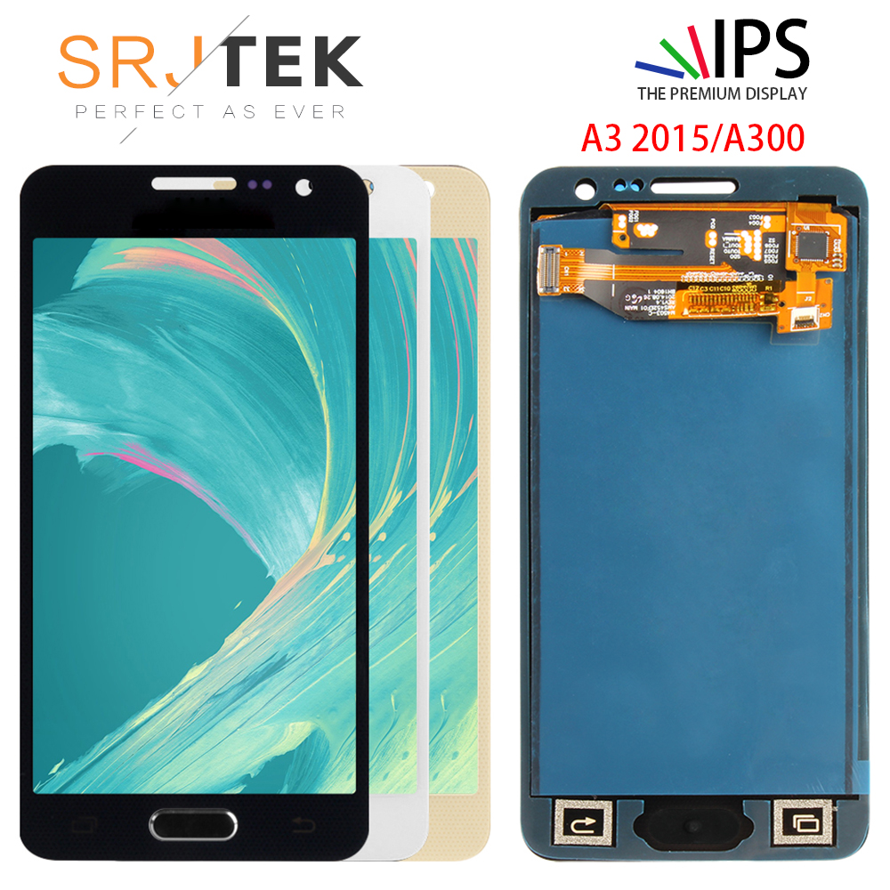 For Samsung Galaxy A3 2015 A300 A3000 A300F A300M LCD Display + Touch Screen Digitizer Assembly Repair ReplacementFor Samsung Galaxy A3 2015 A300 A3000 A300F A300M LCD Display + Touch Screen Digitizer Assembly Repair Replacement