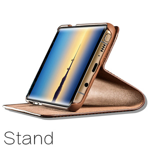 Image 5 - Musubo Ultra Slim Phone Case For Samsung S9 Plus S9+ Coque Genuine Leather Luxury Cases Cover Galaxy S8+ S8 Plus Flip Capa Card