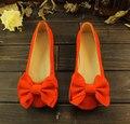 Verão das mulheres de fundo macio sapatos único salto plana trabalho flats mocassins sapatos tamanho grande 35 - 43
