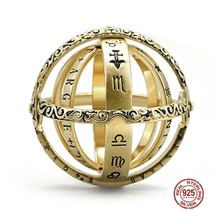 HOT Astronomical Sphere Ball Ring Couple Silver 925 Cosmic Constellations Finger for Lover Jewelry