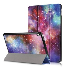 For iPad Pro 10.5 Case 2017 / iPad Air 3 10.5 inch Case, Ultra Slim Lightweight Standing PU Smart cover for iPad Air 2019 Case