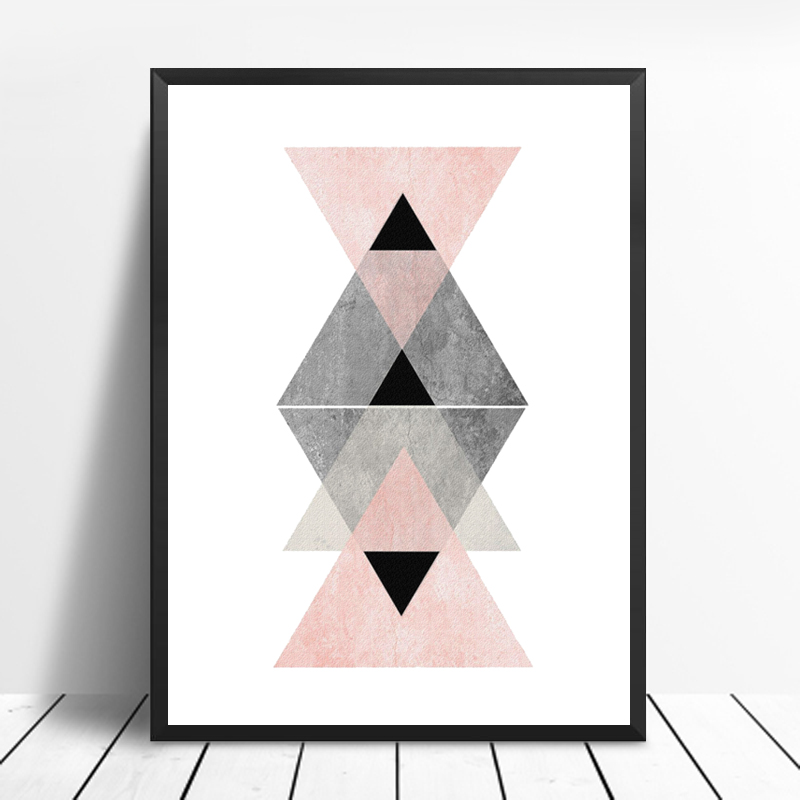 Постер геометрия сканди