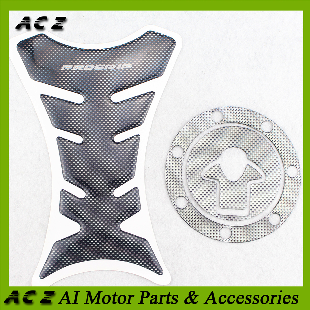 ACZ Motorcycle 3D Fuel Tank Pad Decals Gas Cap Cover Pad Stickers Protector For Kawasaki ZXR250 ZXR400 ZZR250 ZZR400 image