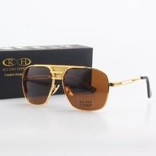 Мужские Солнцезащитные очки авиаторы, поляризационные солнцезащитные очки с двойным лучом в стиле ретро, с защитой от УФ лучей, PE200